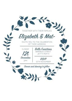Surrounded By Flowers- Wedding Invitations #paperlust #weddinginvitation #weddinginspiration #flower #cards #paper #design #digitalcard #le