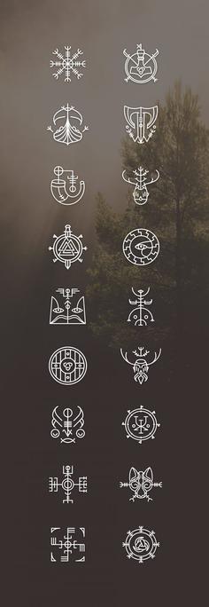 Vikons: the Striking Viking icon set