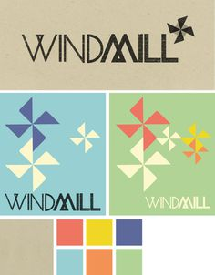 windmill #logo #colour