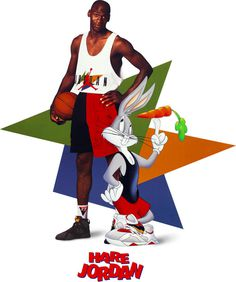 Nike News - They're Back! Michael Jordan and Bugs Bunny Rekindle a Beloved Friendship #throwback #bunny #jordan #air #bugs #retro #hare #nike #mj23 #basketball #michael