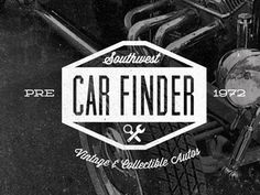 Dribbble - SW Car Finder by Jon Ashcroft #auto #1972 #vintage #logo #car
