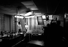 Mad Men, behind the scenes | Adverblog #hamm #white #photo #jon #design #black #the #set #scenes #men #behind #and #mad