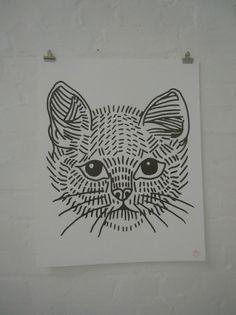 cat poster | Flickr - Photo Sharing! #lyam #tattoo #cat
