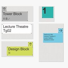 Wayfinding | Signage | Sign | Design | 伦敦传播学院贴壁式导视素材