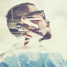 Instagrams by Ligthelm | WE AND THE COLOR #photography #double #exposure
