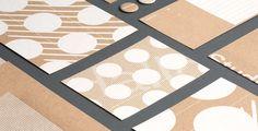 studio una graphic design branding logotype corporate identity germany mindsparkle mag designblog cardboard brown silk screen printing print