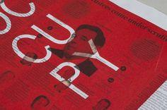 Portfolio of Luke Robertson | Occupied Mono #monospaced #specimen #ows #occupy #mono #occupydesign #typography