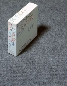 Scale Models - Experimental Jetset #packaging