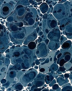 Energy and motion made visible — memories arrested in space - but does it float #19th #bibliodyssey #pattern #marbling #paper