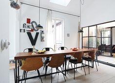 Convoy #white #black #kitchen #table #love