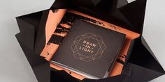 Draw the Light - TheDieline.com - Package Design Blog #packaging #draw #the #folding #light