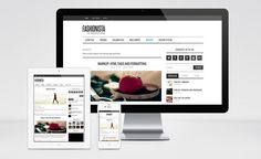 Fashionista : Clean and Responsive Magazine WordPress Theme