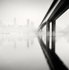 city of fog9 #city #photography #blackwhite #fog