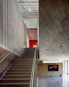 Clyfford Still _19_ALLIED WORKS : plusMOOD #ceilings #concrete #interiors #architecture #light