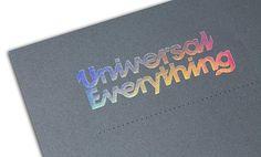 FFFFOUND! | Print Portfolio | Benwells Specialist Printers #print #design #typography #foil stamp #printing techniques