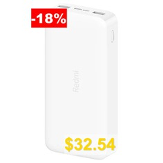 Xiaomi #PB200LZM #Redmi #Power #Bank #20000mAh #Fast #Charge #Version #- #WHITE