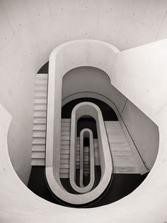 Modern Man #abstract #winding #architecture #stairs #cement #beauty