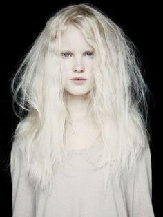 moldavia: Linn Arvidsson by Cari Vuong #white #girl #photo #albino #portrait