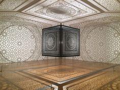 Anila Quayyum Agha- Laser Cut Wood #set