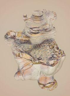 Buamai Bones Atelier Olschinsky #layers #rocks #structure