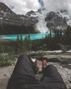 Napping in the Rockies