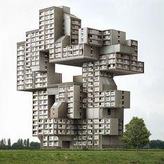 Filip_Dujardin_3.jpg (Image JPEG, 628x628 pixels) #brutalist #brutalism #architecture