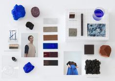 A FOUR SENSES MOOD BOARD FORInternet Age Media Weekendinstalation in collaboration with Preforma DesignCONTRIBUTORS AND FEAUTRED WORKSVitrin #board #mood #colour #style #fashion