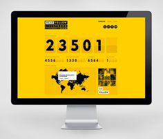 LIVESTRONG Day Work Instrument #interactive #web design #instrument