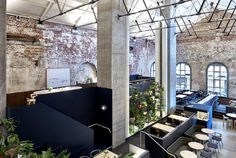Melbourne Restaurant with Exposed Brickwork - #restaurant