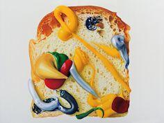Gede Mahendra Yasa-Bread Talk #2-2010-150x200cm-Oil on canvas