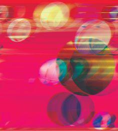 Daniel Temkin, Glitchometry Circles #4, 2013