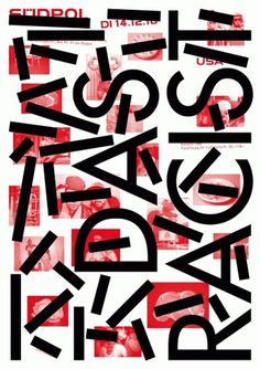 13-Das-Racist.gif 1131×1599 pixels #pfaeffli #theatre #design #sdpol #poster #felix