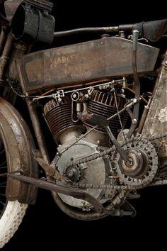 Motorized. / #gnarly #harley
