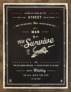 Lyric Prints by The Neighbourhood Studio | Incredible Types