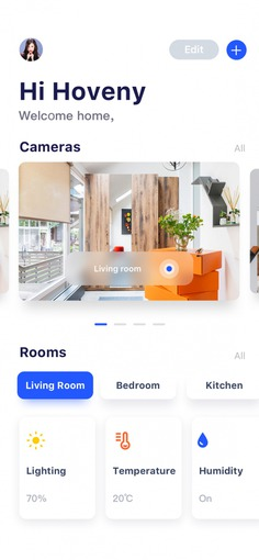 Smart Home APP by Hoveny