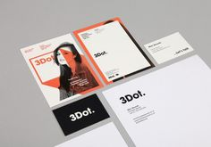 3Dot. Records Branding - She Was Only #logo #branding #printing #flyer #stationary
