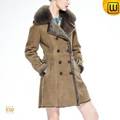 Vintage Shearling Coat for Women CW640230 #shearling #vintage #coat