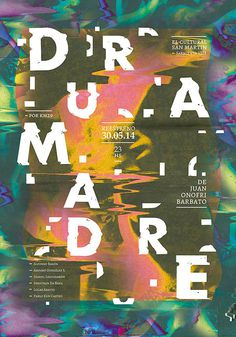 D u R A m A D R E — Lucila Quintana #print #poster