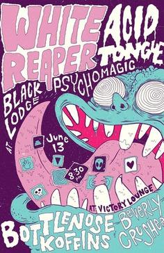 White Reaper Event Poster