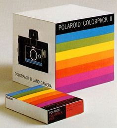 RAINBOW #packaging #camera #rainbow #polaroid