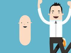 Dribbble - Sausage People by Matt Hamm