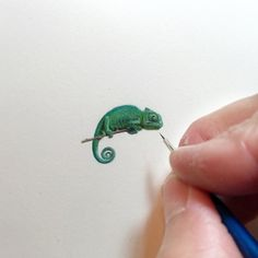 Incredible Tiny Paintings By Karen Libecap #painting #artwork #tiny #karenLibecap