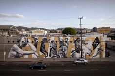woodkid and cyrcle collaborate on los angeles mural 12 #woodkid #cyrcle #mural #and