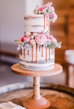 Mini cakes are more conveniently for cutting. Here wonderful collection of mini wedding cakes which will surprise your guests.