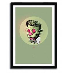 BRASS MONKEY by IDV #print #art