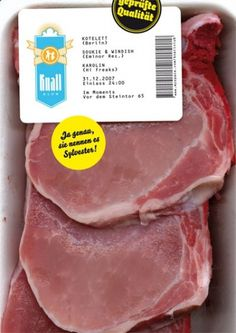 · TROPENELEKTRONIK · #flyer #meat