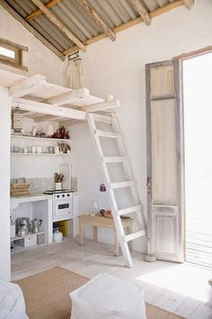 kids room/play room #interior #kid #ladder #room