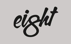 Eight Logo #logo #eight