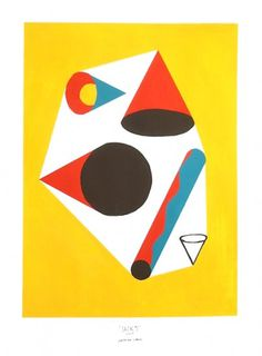 Damien Correll • Shape Studies #geometry #primary #color #correll #shape #studies #damien