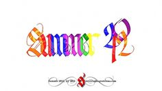 All sizes   Summer 2012   Flickr - Photo Sharing! #calligraphy #2012 #gothic #summer #type #typography